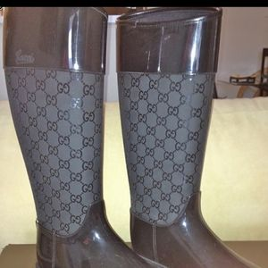 Authentic Gucci Rain Boots